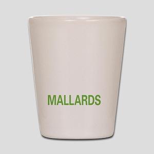 livemallard2 Shot Glass