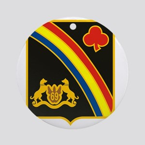 69th ID Crest Round Ornament