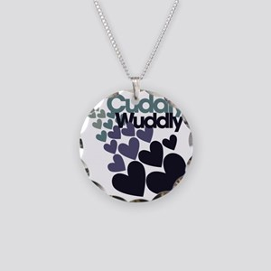 Cuddly Necklace Circle Charm