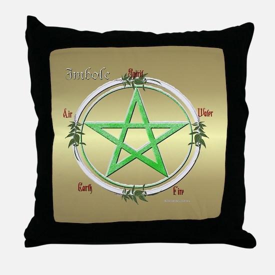 Imbolc Sabbat Throw Pillow