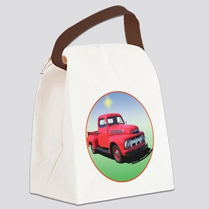 51-F1-C8trans Canvas Lunch Bag