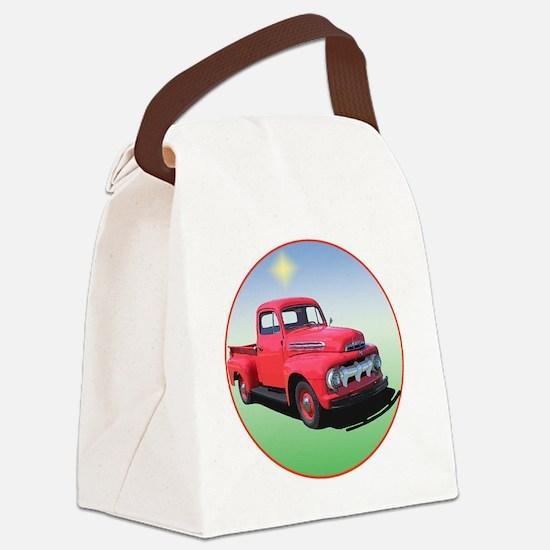 51-F1-C8trans Canvas Lunch Bag