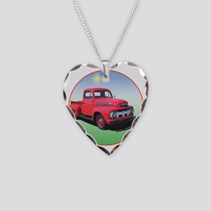 51-F1-C8trans Necklace Heart Charm