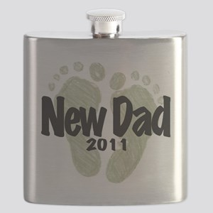 New Dad 2011 (Unisex) Flask