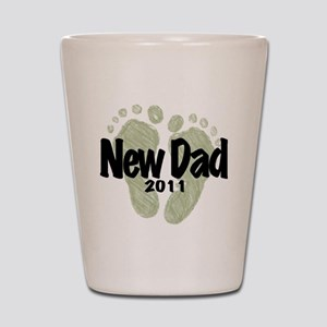 New Dad 2011 (Unisex) Shot Glass