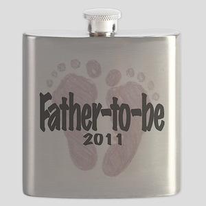 FatherToBe 2011 (Girl) Flask