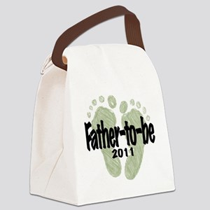 Father to Be 2011 (Unisex) Canvas Lunch Bag