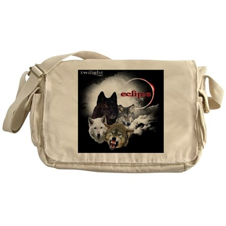 Twilight Eclipse Movie L Wolf Pack B Messenger Bag