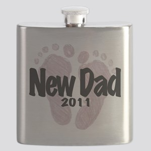 New Dad 2011 (Girl) Flask