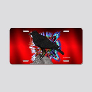 Raven Magick Aluminum License Plate