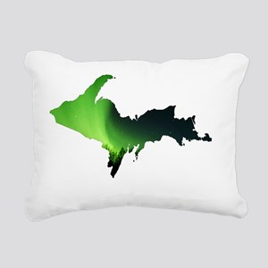 U.P._Aurora_Borealis_001 Rectangular Canvas Pillow