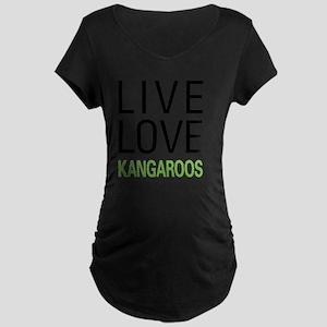 livekangaroo Maternity Dark T-Shirt