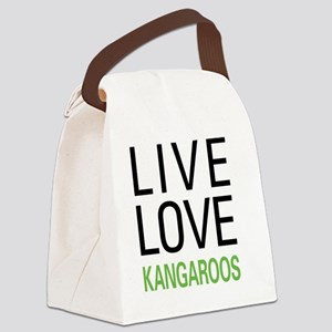 livekangaroo Canvas Lunch Bag