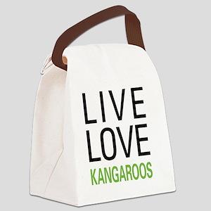 livekangaroo Canvas Lunch Bag