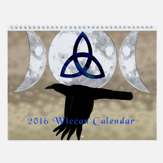 2016 Wiccan Calendar Wall Calendar