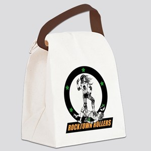 rtr_logo in color for black shirt Canvas Lunch Bag