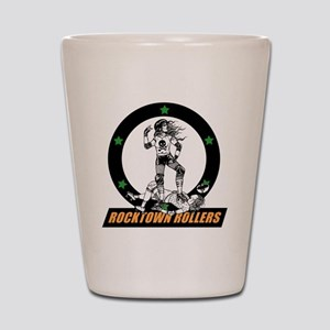 rtr_logo in color for black shirts Shot Glass