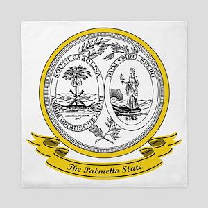 South Carolina Seal Queen Duvet
