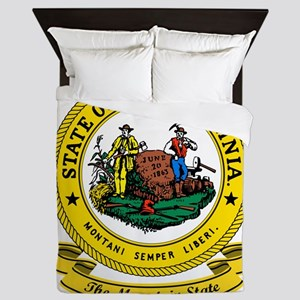 West Virginia Seal Queen Duvet