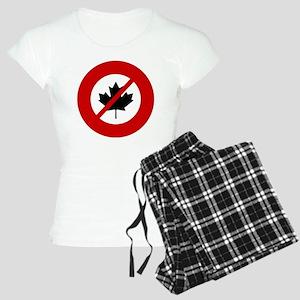 c51ae4a60 Anti Maple Leafs Pajamas - CafePress