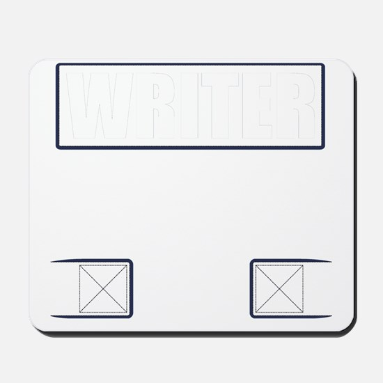 Writer Vest Mousepad