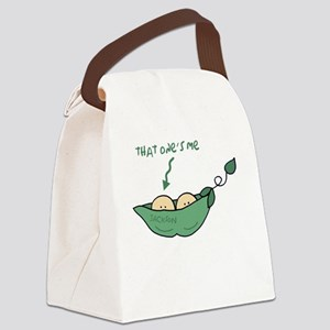 peapod2 that ones me jackson Canvas Lunch Bag