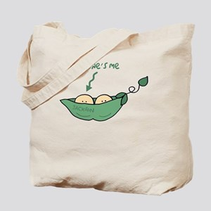 peapod2 that ones me jackson Tote Bag