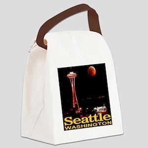seattle_wa_lunar_eclipse_TAL Canvas Lunch Bag