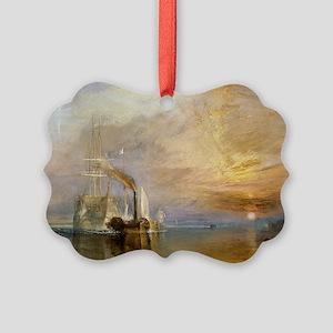 The Fighting Temeraire by Joseph  Picture Ornament