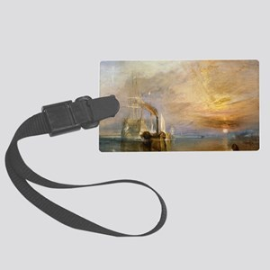 The Fighting Temeraire by Joseph Large Luggage Tag