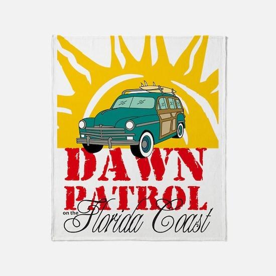 FLDawnPatroliPad Throw Blanket