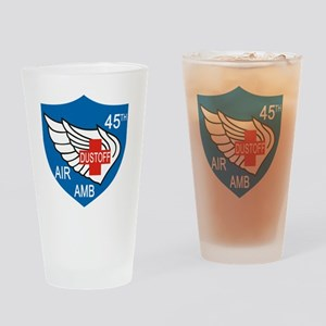45th Medical Dustoff Patch Drinking Glass