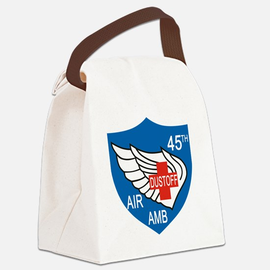 45th Medical Dustoff Patch Canvas Lunch Bag