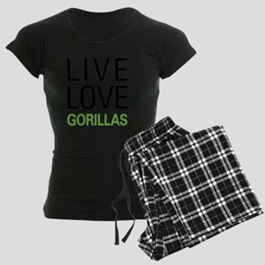 livegorilla Women's Dark Pajamas