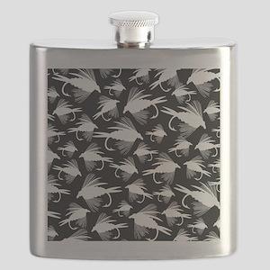 LOTSA WHITE FLIES IPAD CASE Flask
