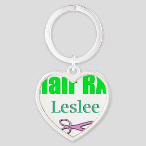 hairrxleslee Heart Keychain