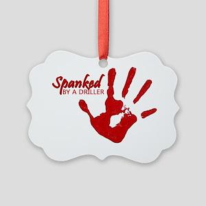 spankedD Picture Ornament