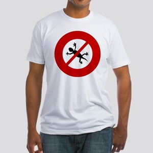 no-geckos Fitted T-Shirt