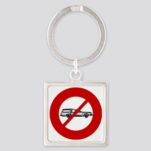 no-station-wagons Square Keychain