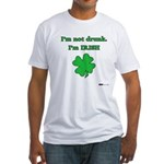 I'm not drunk, I'm Irish Fitted T-Shirt