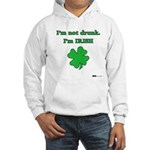 I'm not drunk, I'm Irish Hooded Sweatshirt