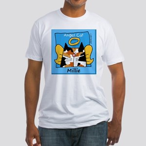 CALICOangelcat copy Fitted T-Shirt