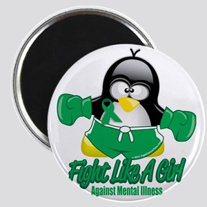 Mental-Illness-Fighting-Penguin Magnet