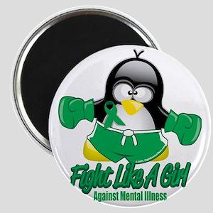 Mental-Illness-Fighting-Penguin Magnet