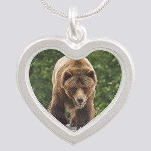 tile-grizzly-1 Silver Heart Necklace