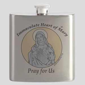 Immaculate Heart Flask