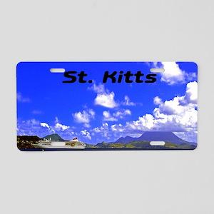 St. Kitts18x12 Aluminum License Plate