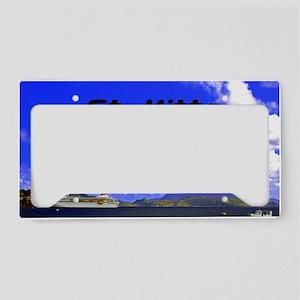 St. Kitts18x12 License Plate Holder