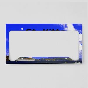 St. Kitts42x28 License Plate Holder