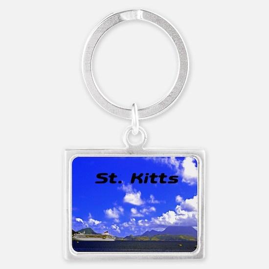 St. Kitts42x28 Landscape Keychain